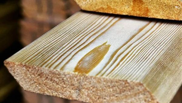 Планкен косой из лиственницы