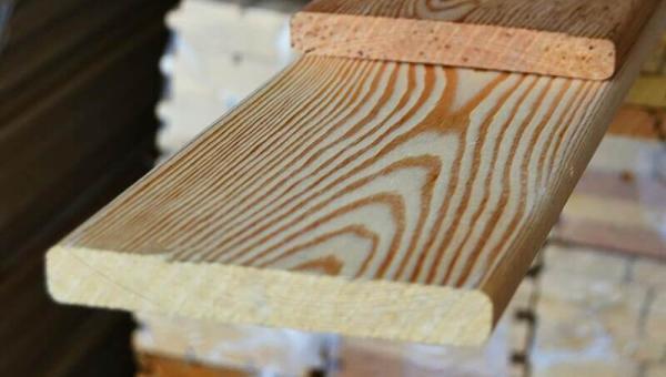 фасадная доска лиственница