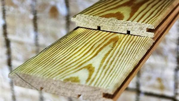 Вагонка штиль лиственница