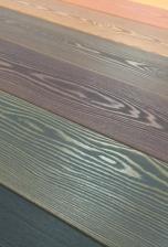 Производственная покраска террасной доски
